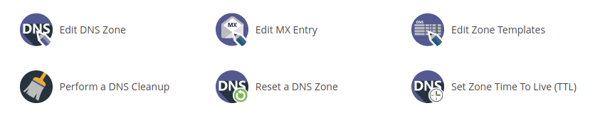 WHM DNS functions 2