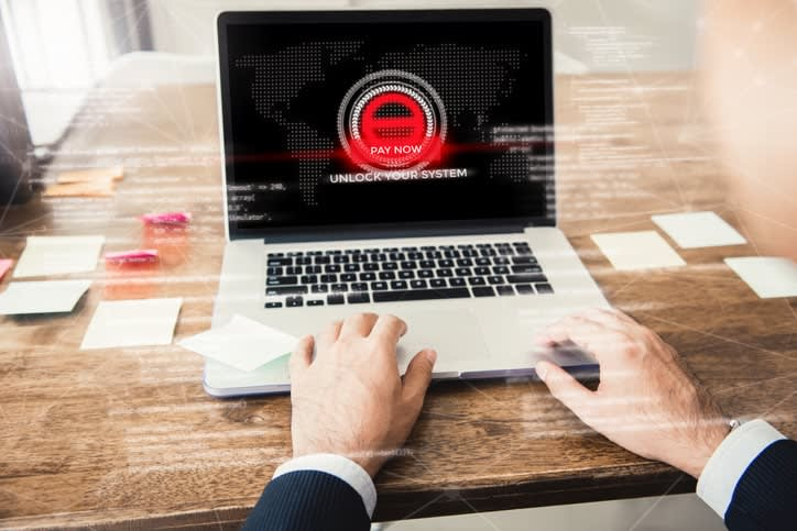 how does cryptolocker ransomware work