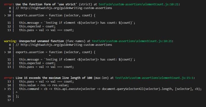 npm-run-errors