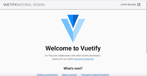 welcome-to-vuetify