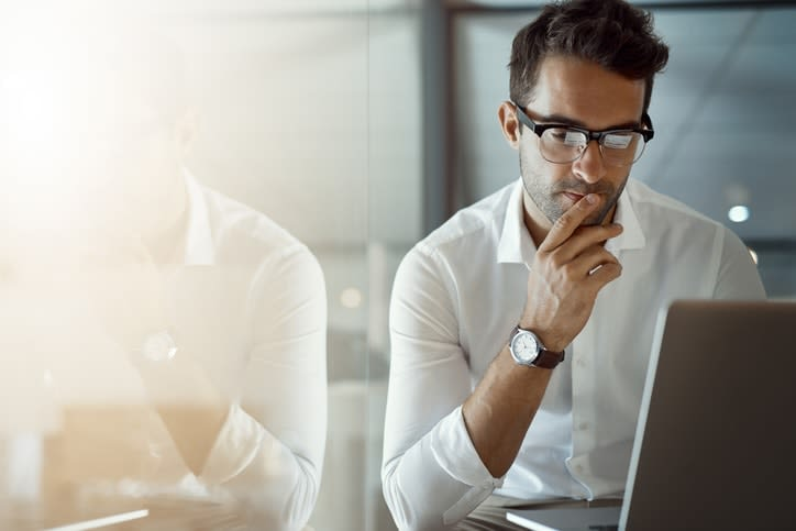 man considering liquidweb vs digitalocean