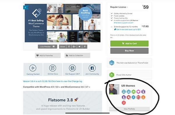 Envato owned ThemeForest adds badges to increase engagement