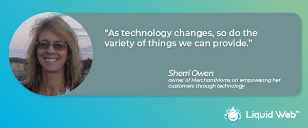 Liquid Web - Women in Technology - Sherri O
