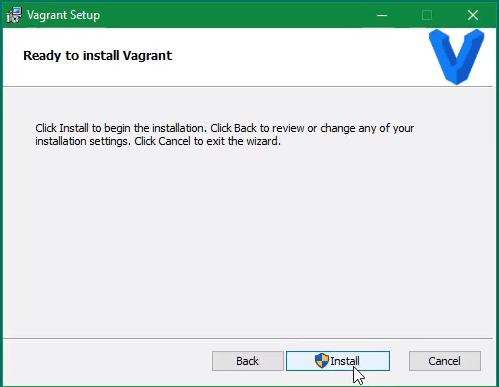 Vagrant Install