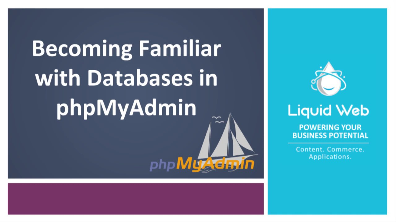 Becoming Familiar with Databases in PhpMyAdmin
