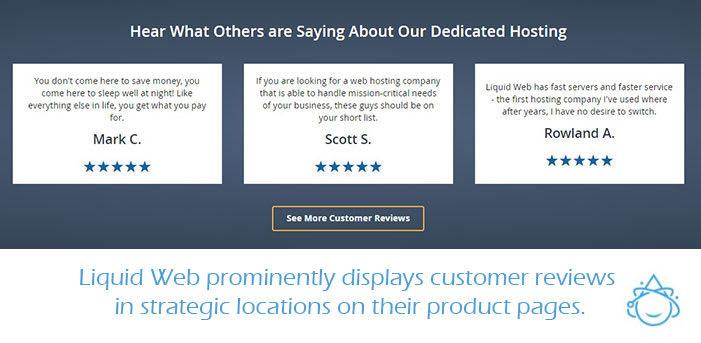 dedicated customer reviews on liquid web