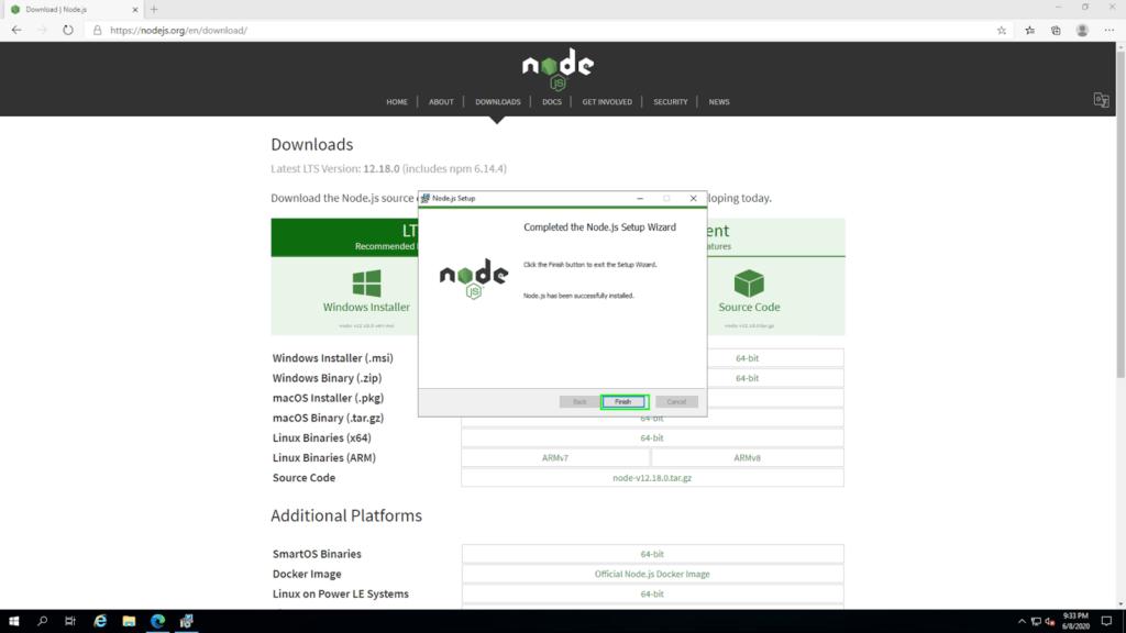 node install10