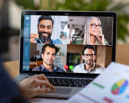 Using video calls to collaborate is one of many remote working tools that can help teams work smarter.