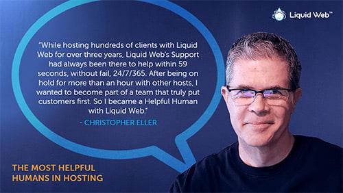 Meet a Helpful Human - Christopher Eller