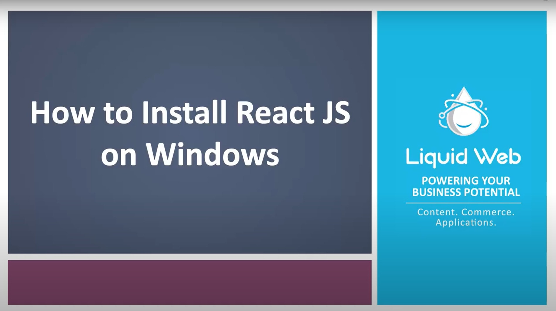 How to Install React JS On Windows