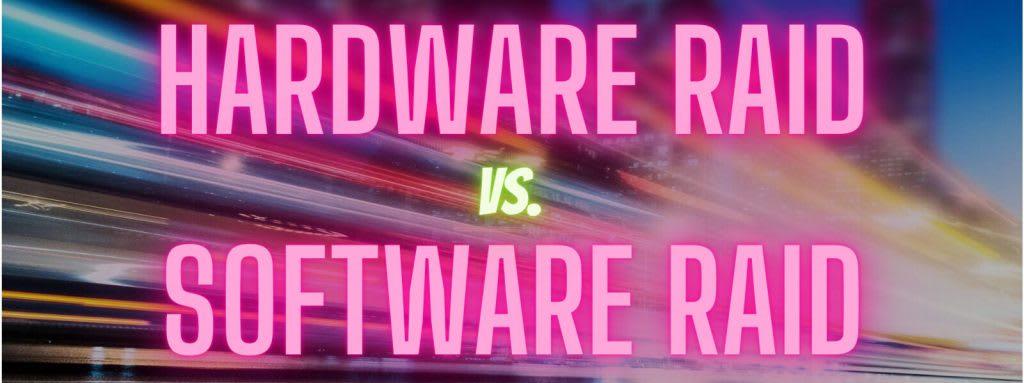 hw vs sw raid