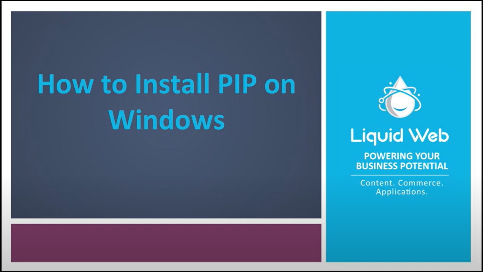 How to Install PIP for Python on Windows