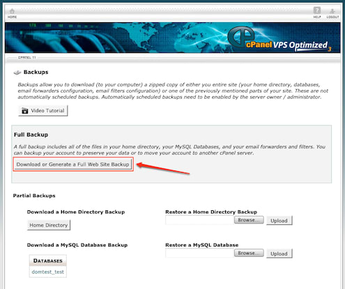Domain Name Backup 1