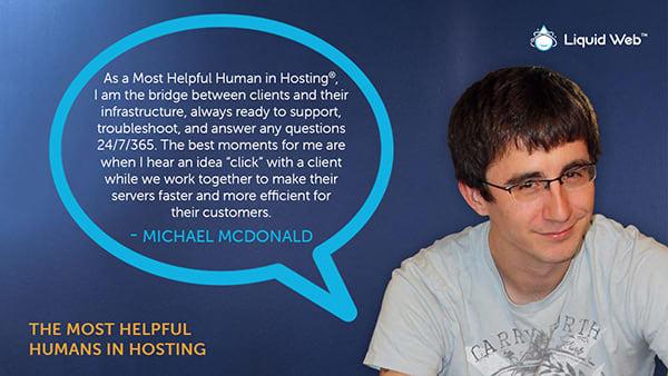 Meet a Helpful Human - Michael McDonald