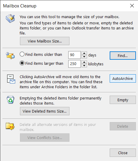 mailbox-cleanup-convertost10