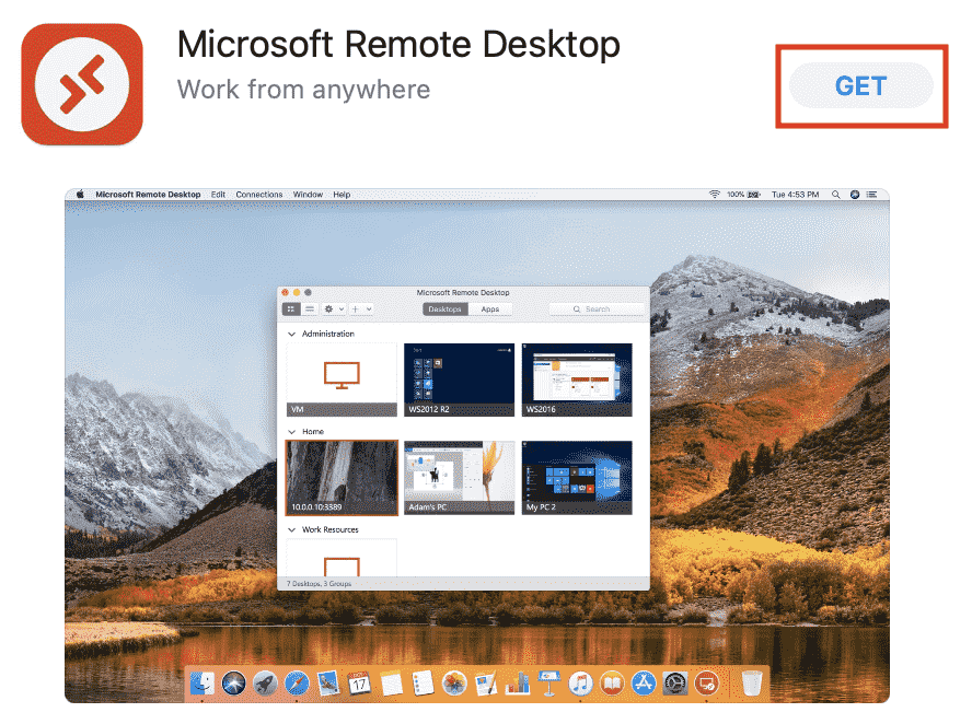 app-store-search-rdp