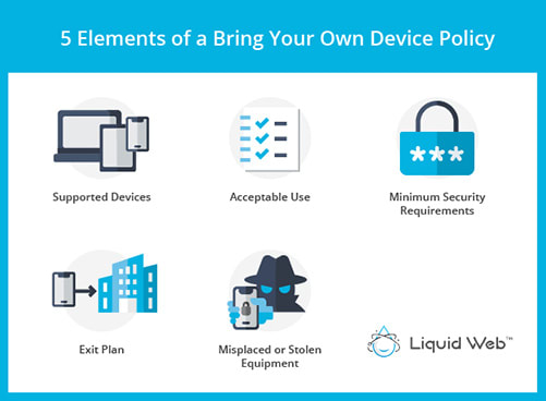 5 elements of a Bring Your Own Device Policy