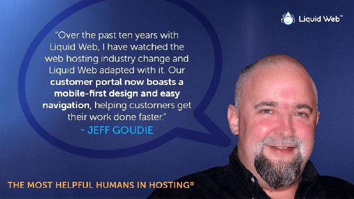 Meet a Helpful Human - Jeff Goudie