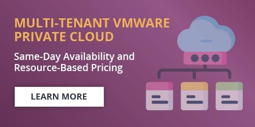 Multi-Tenant VMware Private Cloud CTA banner