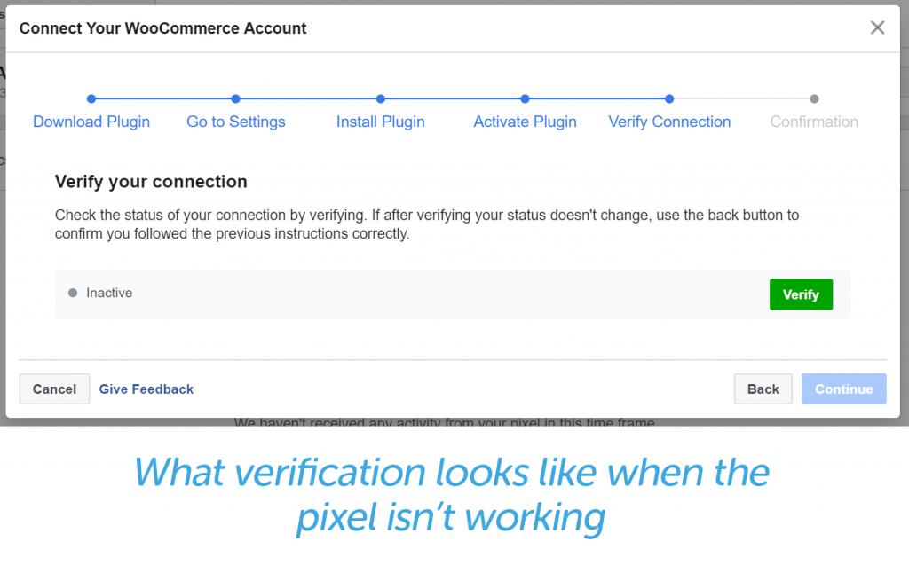 Inactive verification