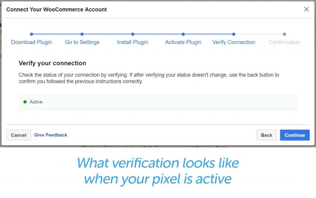 Active Pixel verification