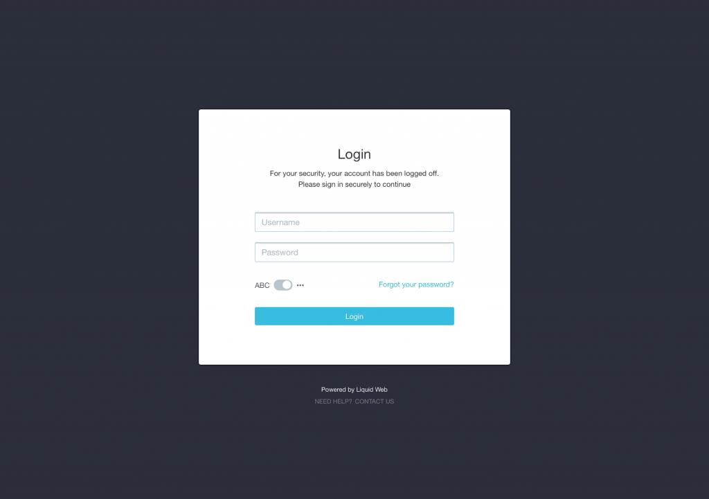 Logging in after installing WordPress
