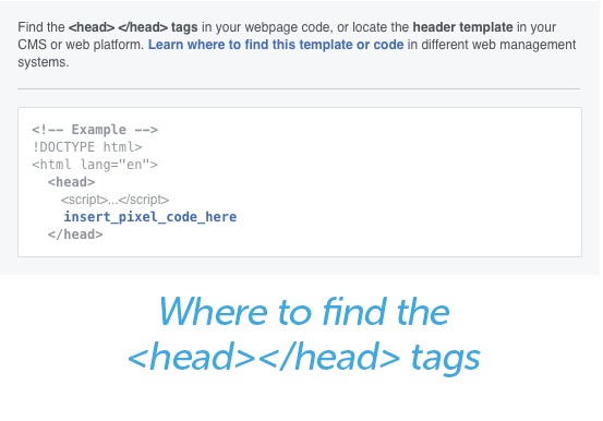 where to find head tags