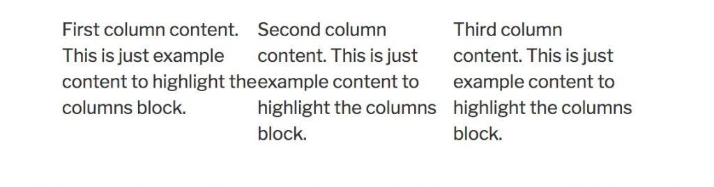 gutenberg-columns