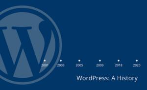 A History of WordPress