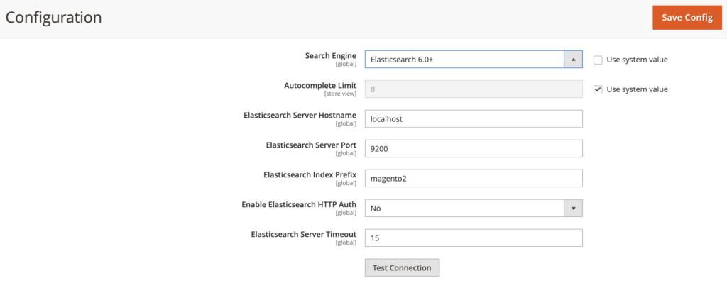 Adding Elasticsearch to the Magento Catalog Interface