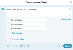 Creating a Poll in twitter for valuable WooCommerce feedback