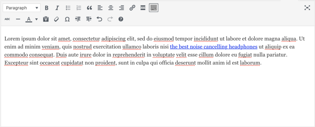 Creating anchor text for blog articles to link to product pages internal linking