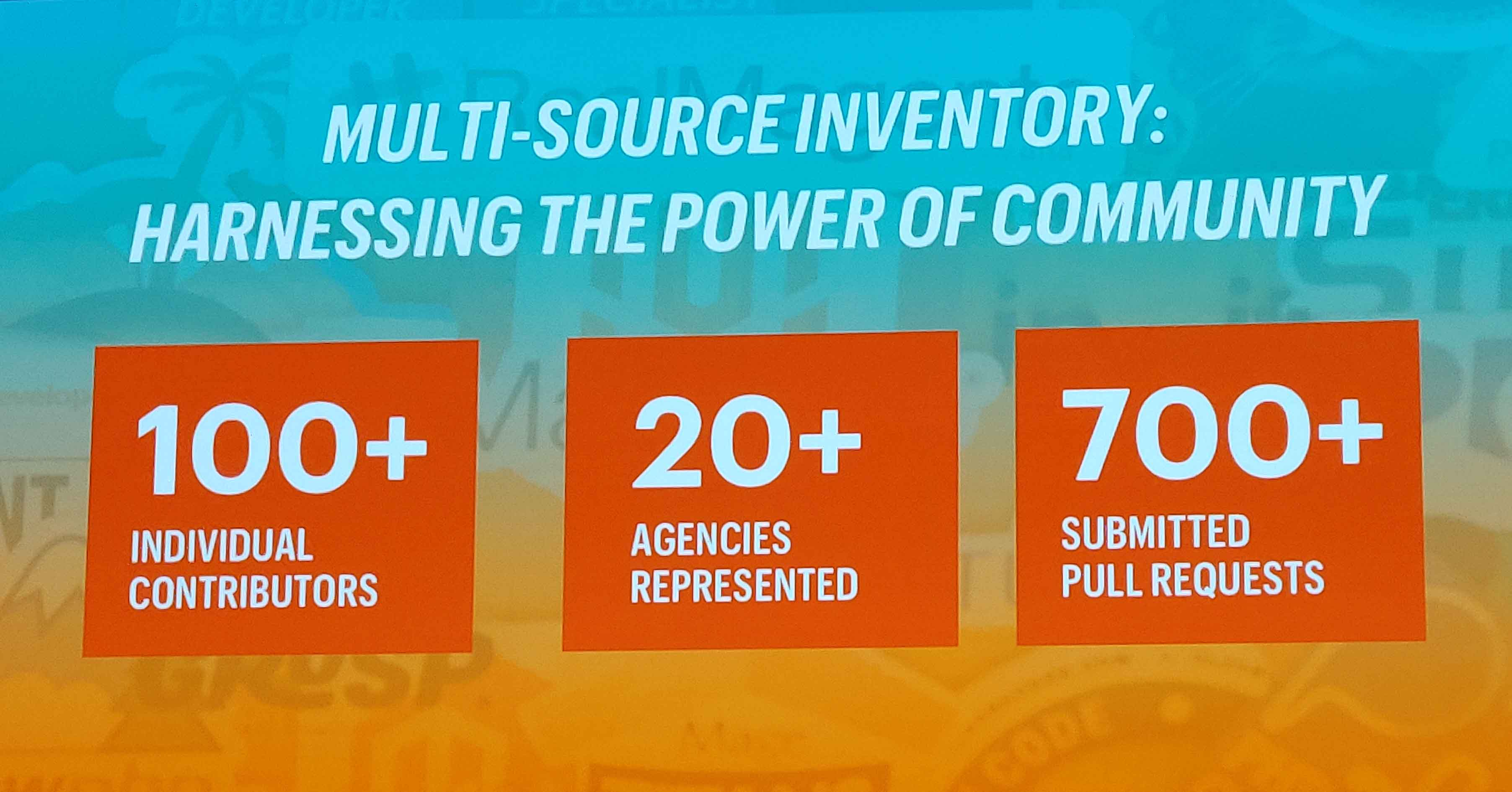 Harnessing the power of the multi-source inventory