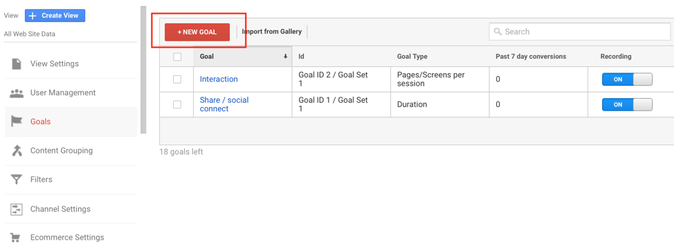 How to Set up a Confirmation Page Goal