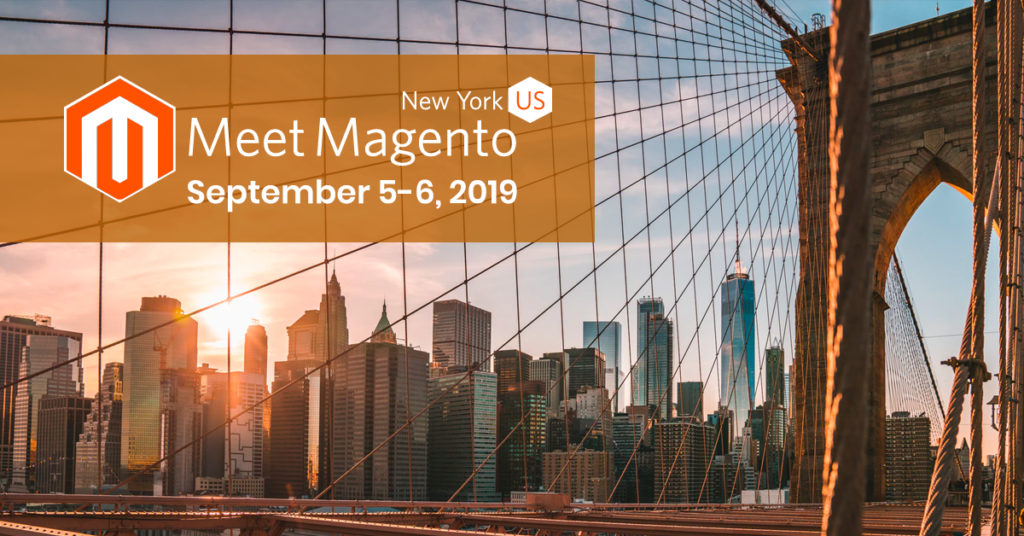 Meet Magento New York will take place September 5-6
