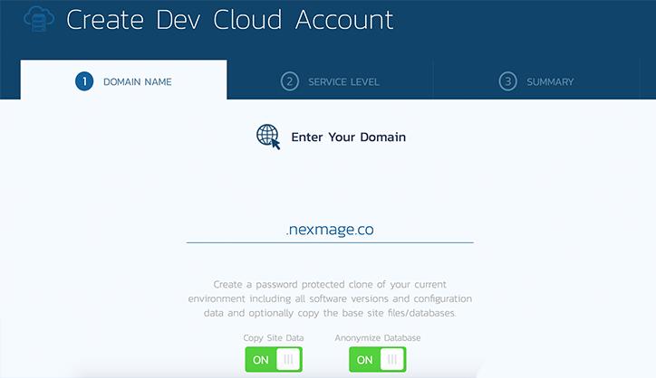 Making a Dev Cloud Account