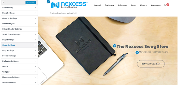 The Nexcess WooCommerce Site