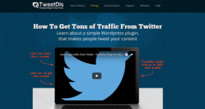 TweetDis is great for Social Media And WordPress Conversions Increases