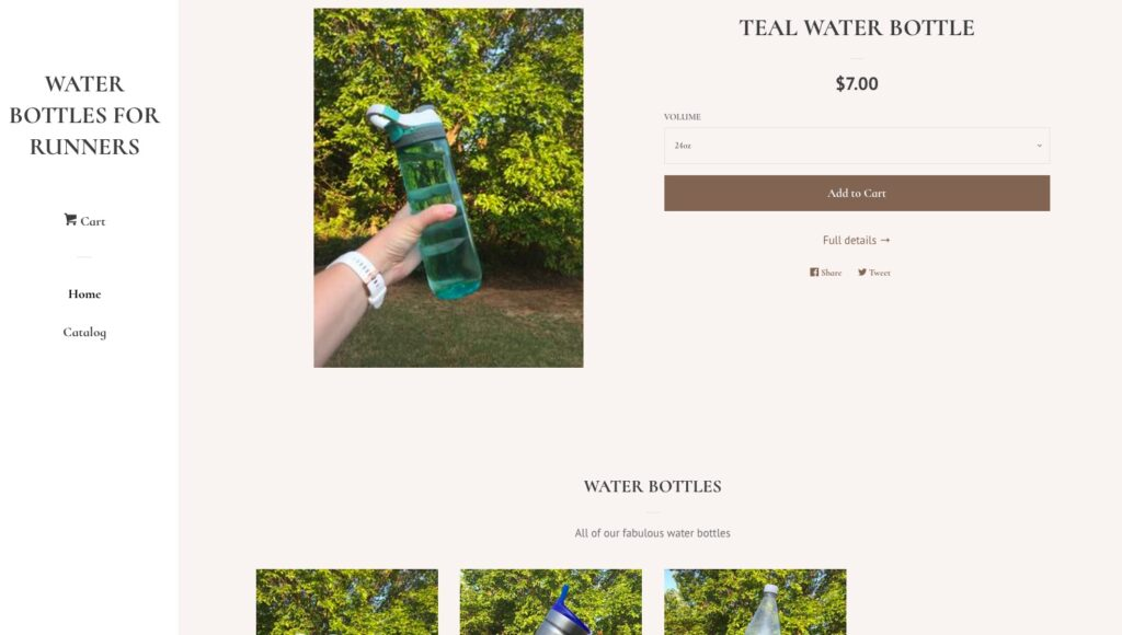 Shopify Product Page