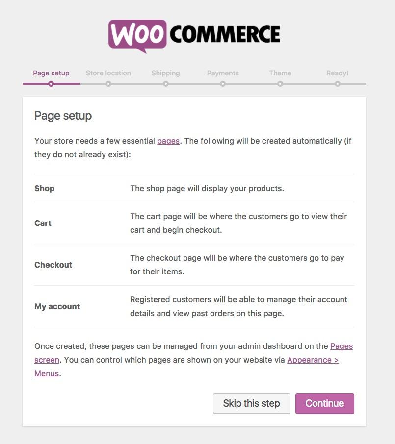 WooCommerce Setup Guide