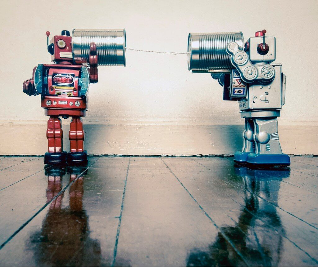 bots automating communication