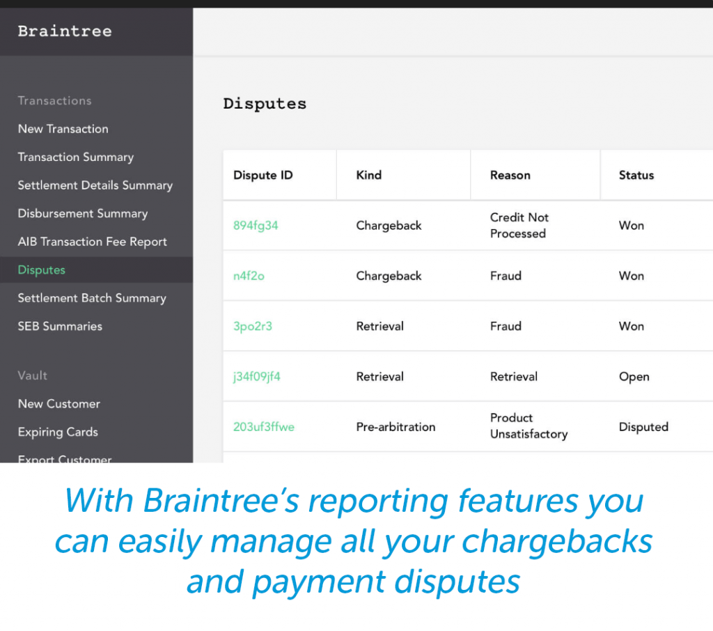 braintree reporting for best payment gateways for digital downloads