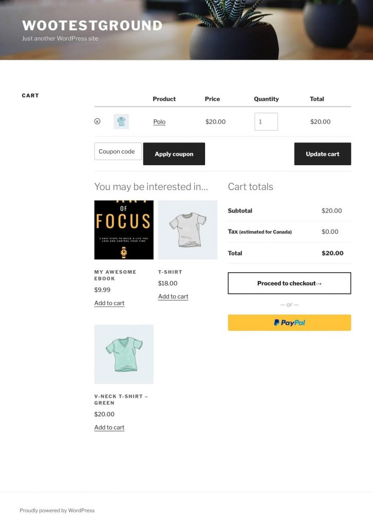 cross-sells for WooCommerce on product page