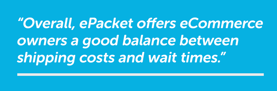 epacket aliexpress shipping quote