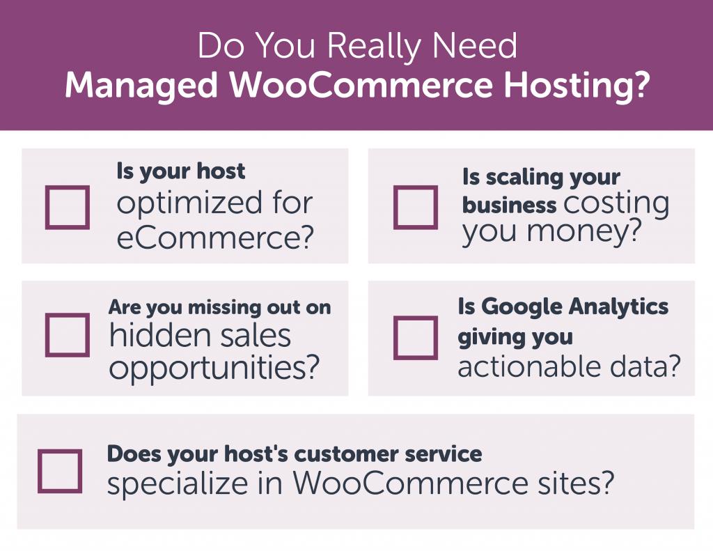 five reason you need managed woocommerce hosting