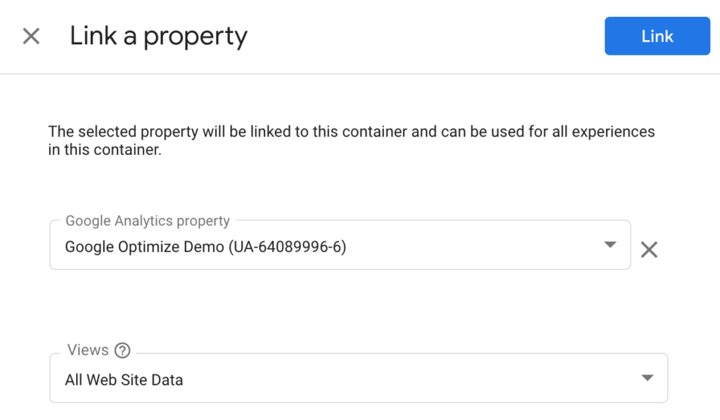Link Property