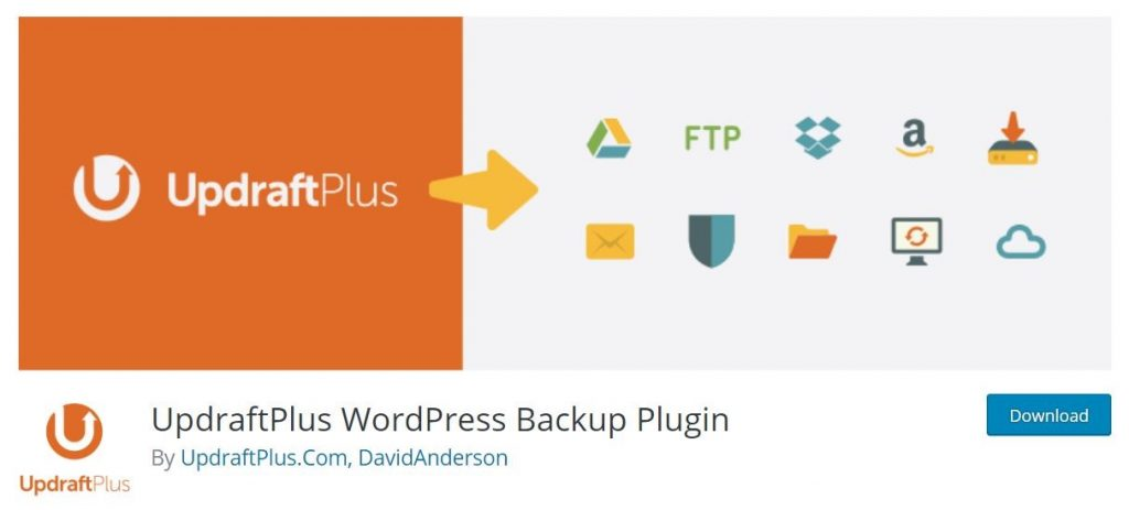 updraftplus backup for wordpress maintenance checklist