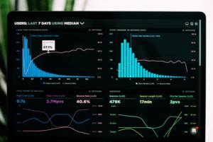 web tracking on monitor