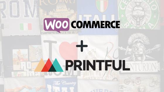 logos for woocommerce + printful