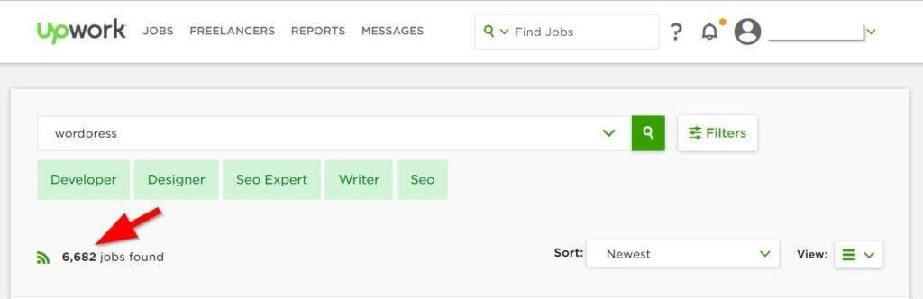 adding freelancer work to upwork